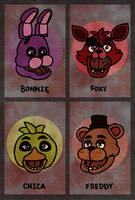 ...Five Nights At Freddy's... by foxgirlKira