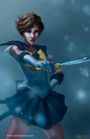 Sailor Uranus by badwhitney