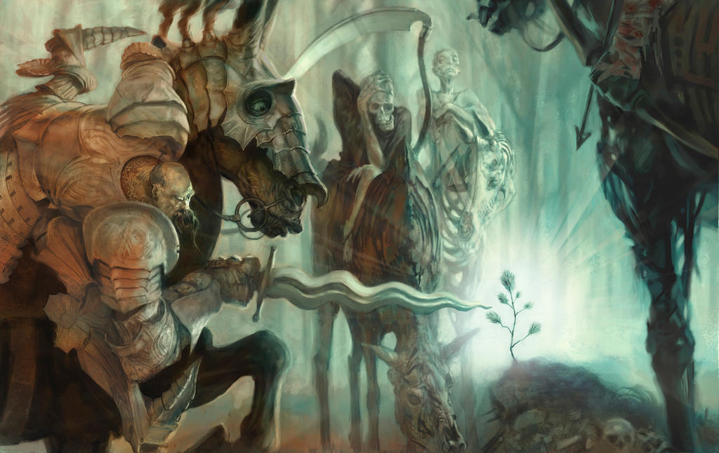 Jon Foster, Fourhorsemen by theartdepartment