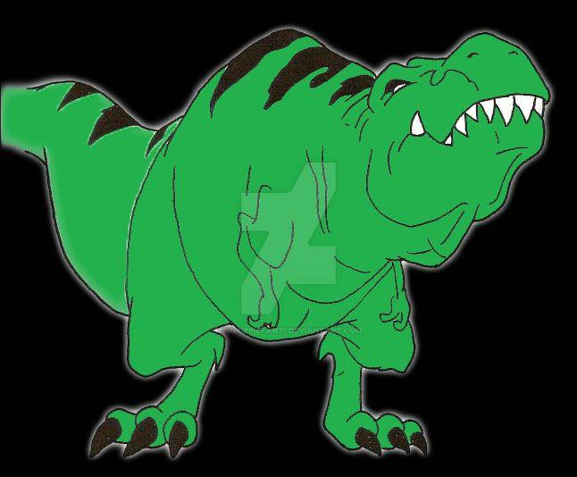 Beast Boy T Rex Coloured By Pinkiepiefan37 On Deviantart