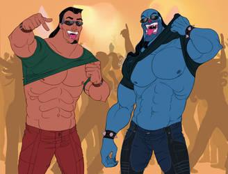 Disney Hercules_Biceps Party Hard! by ariel025
