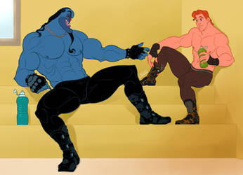 Disney Hercules_ Post Sparring Relaxation