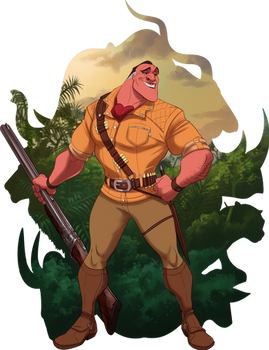 Disney Tarzan_The Big Game Hunter