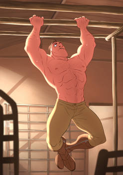 Disney Tarzan_Morning routine