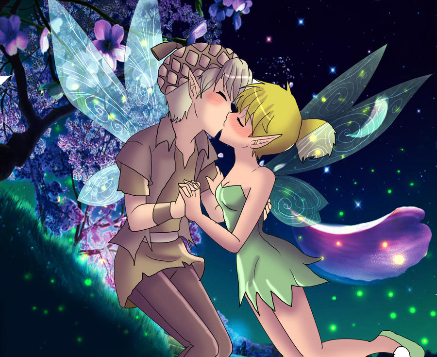 Terrence and Tinkerbell by AngelofHapinessTinkerbell And Terence