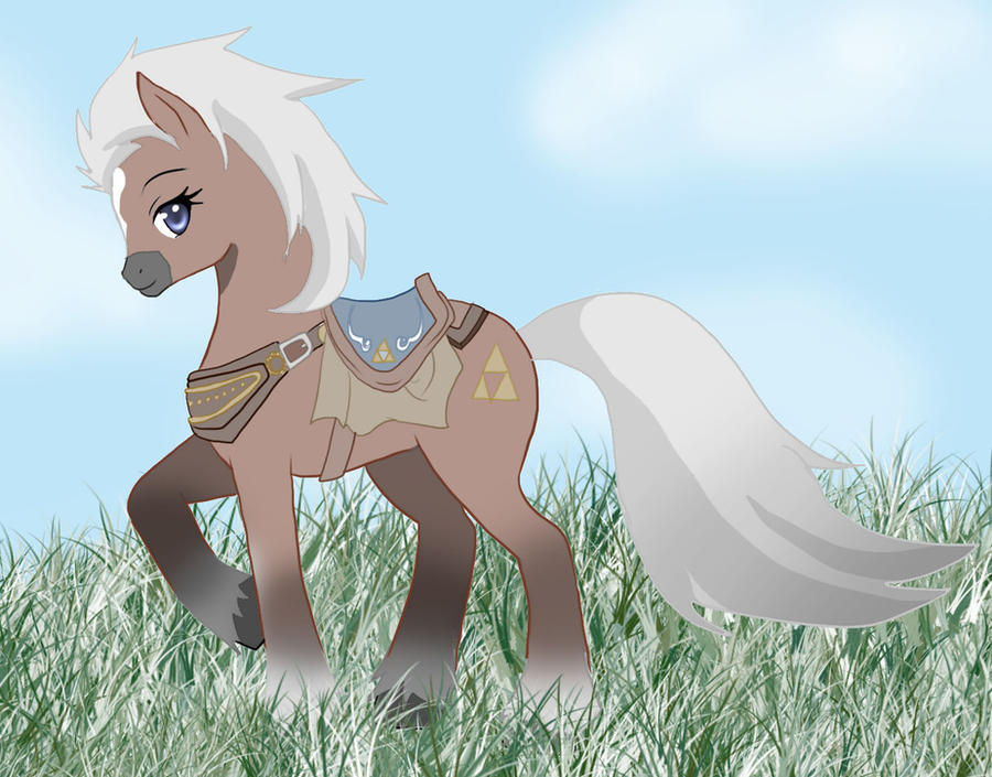 Epona MLP style by AngelofHapiness