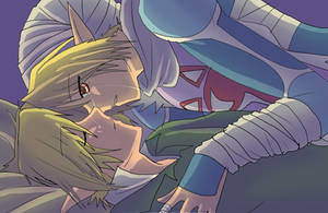 Sheik and Link by AngelofHapiness