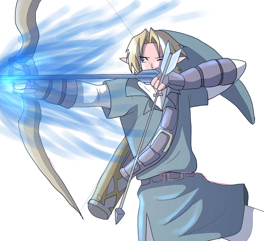 Digimon is cool Ice_arrow_by_angelofhapiness-d5gglnq