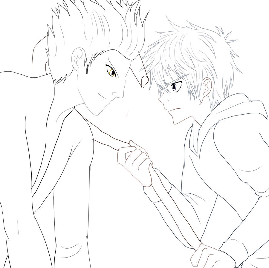 Jack Frost And Elsa Kissing Coloring Pages Coloring Pages
