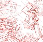Nabooru vs Link sketch