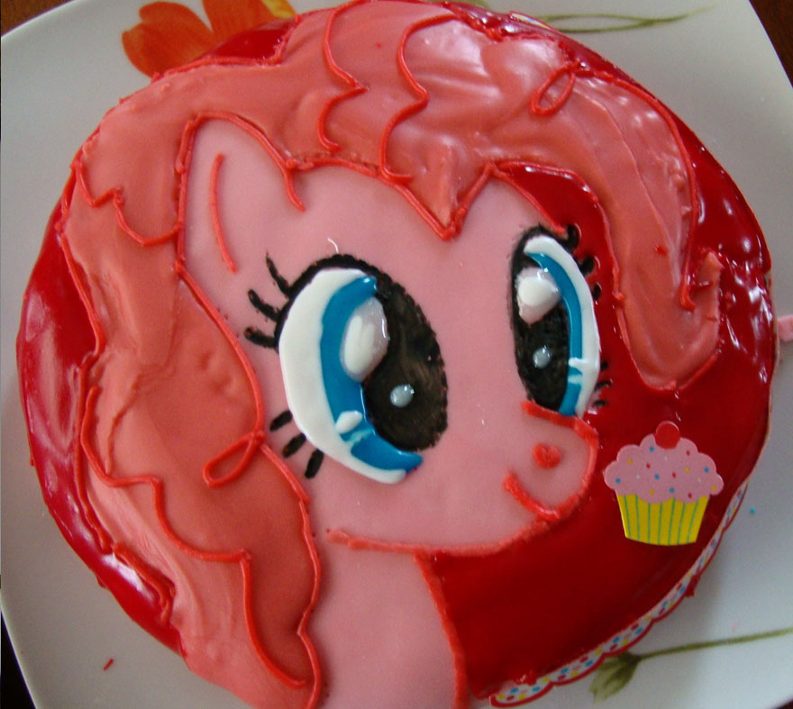 Pinkie Pie cake by AngelofHapiness on DeviantArt