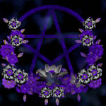 Gothic Pentagram Background 3