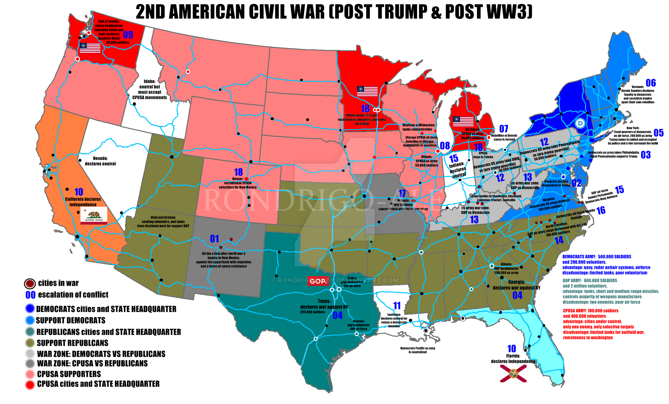 2nd american civil war (post world war 3) by rondrigo-alex on DeviantArt