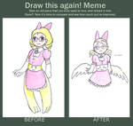 Wenna - draw again meme