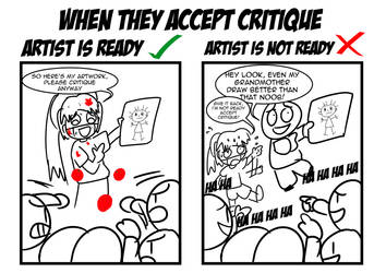 Critique is not perfect by achthenuts