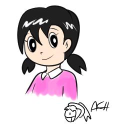 Random sketch - Shizuka Minamoto by achthenuts