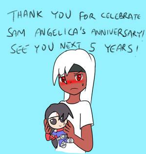 Sam Angelica's 15th Anniversary- END