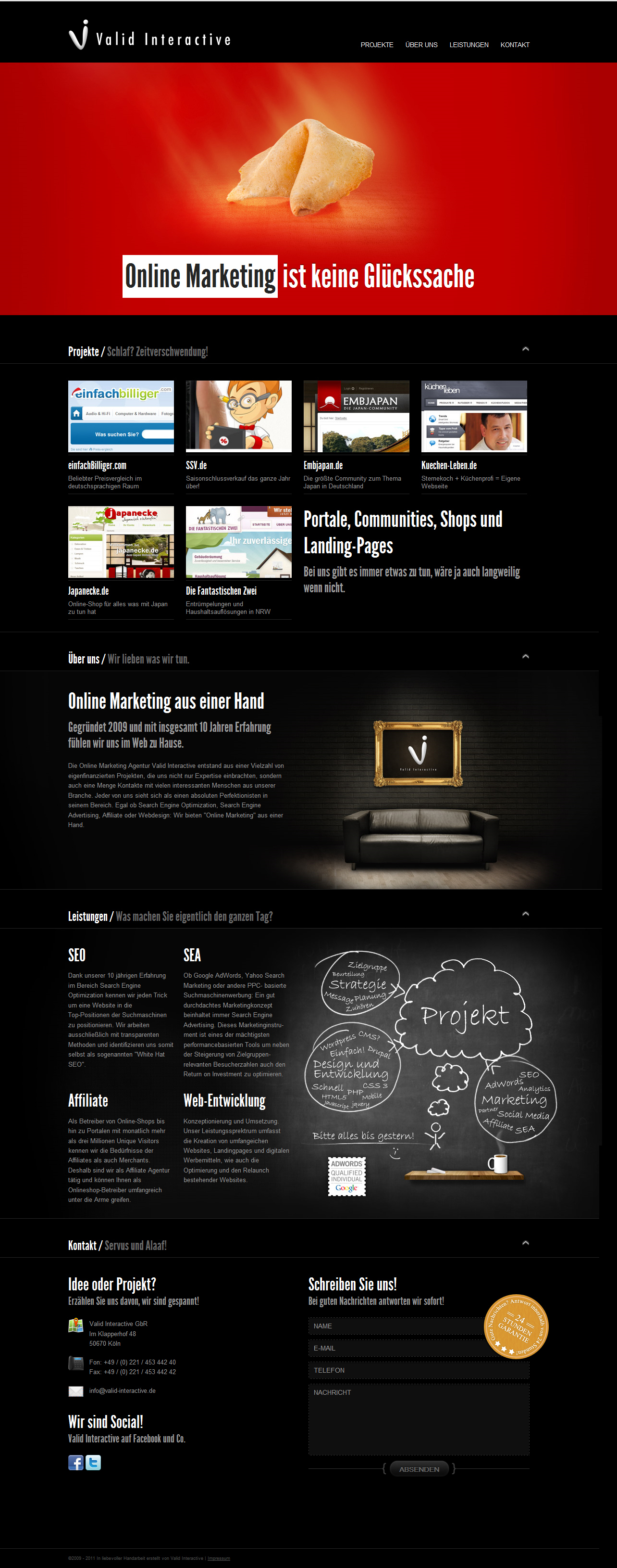 Online Marketing Design by NilsHuber