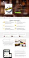 eBook Landing Page by NilsHuber