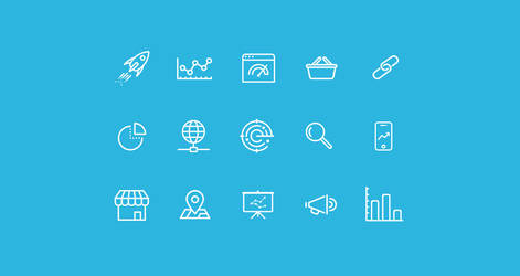 SEO Icons Freebie