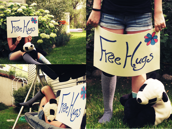 Free Hugs? by penguinflavoureddoom