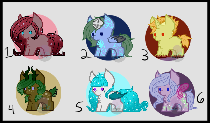 ~: Points Adopts - Set Price! :~ [0/6 CLOSED!] by LillithCrescent