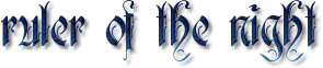 Ruler of the night font by Ice-shine15