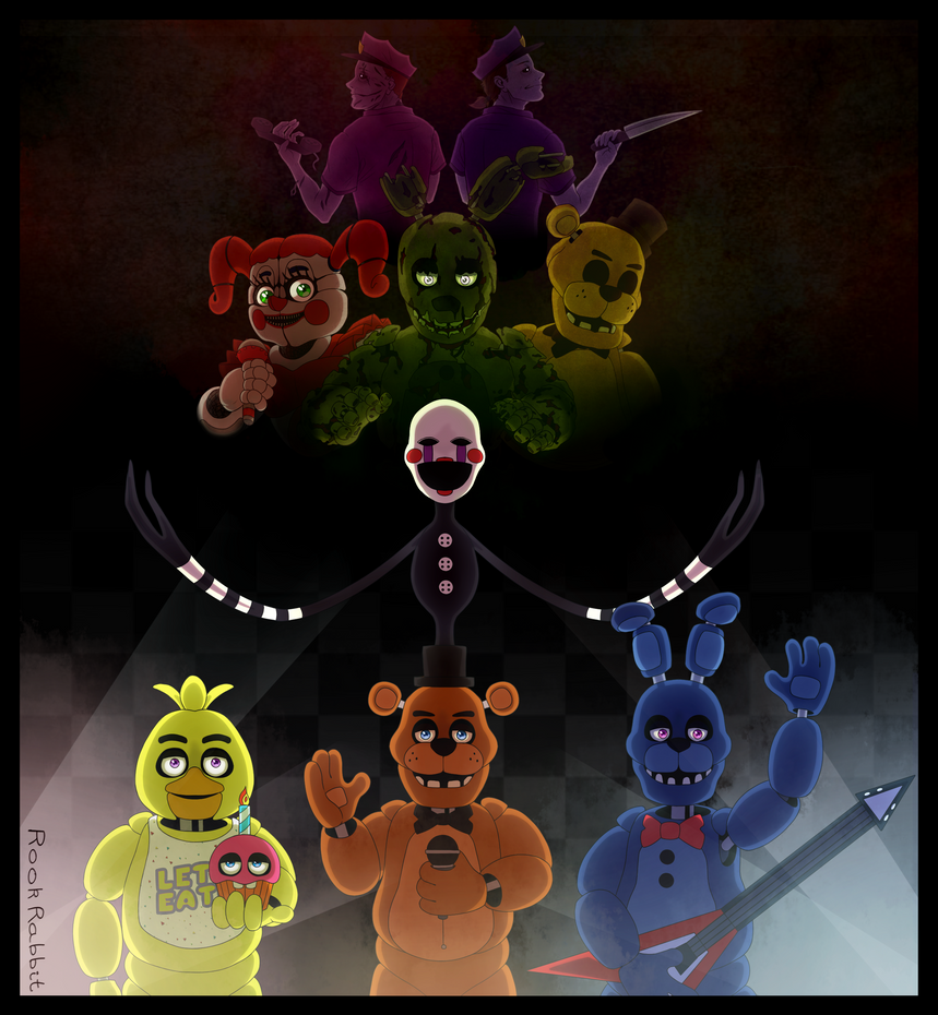 Five Nights At Freddy's - A Long Story by GrimmArtworks