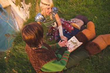 Astrid and Hiccup  - How to train your dragon