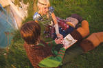 Astrid and Hiccup  - How to train your dragon by NatIvy