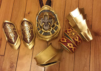 Ivy's pieces of armour - Soulcalibur V