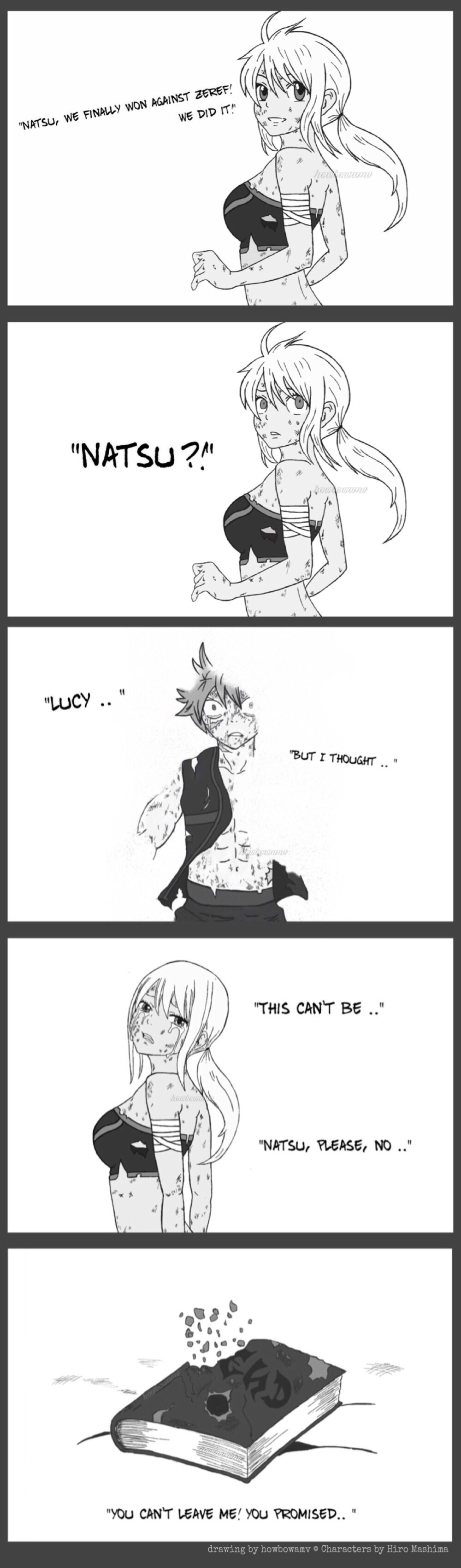 Fairy Tail Fanfiction End Revealed: After Fairy Tail Defeated Zeref (Nalu Fanfic) By Howbowamv