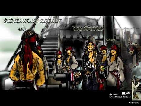 Jack Sparrow-Langweile in Davy Jones Locker