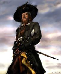 Captain Hector Barbossa by KomyFlyinc@ by KomyFly