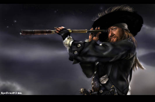 Barbossa s Night  by KomyFlyinc@