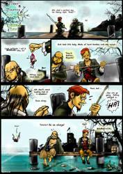 Funny Pirates  Fishing Day by KomyFly