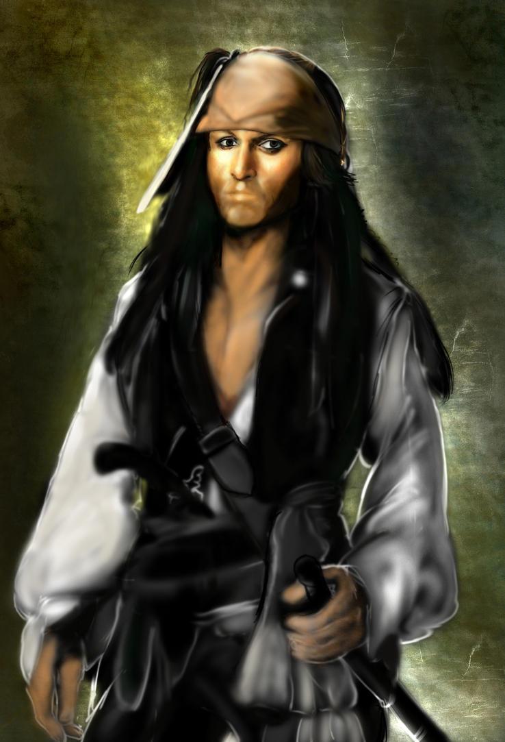 Jack Sparrow Phase III by KomyFly