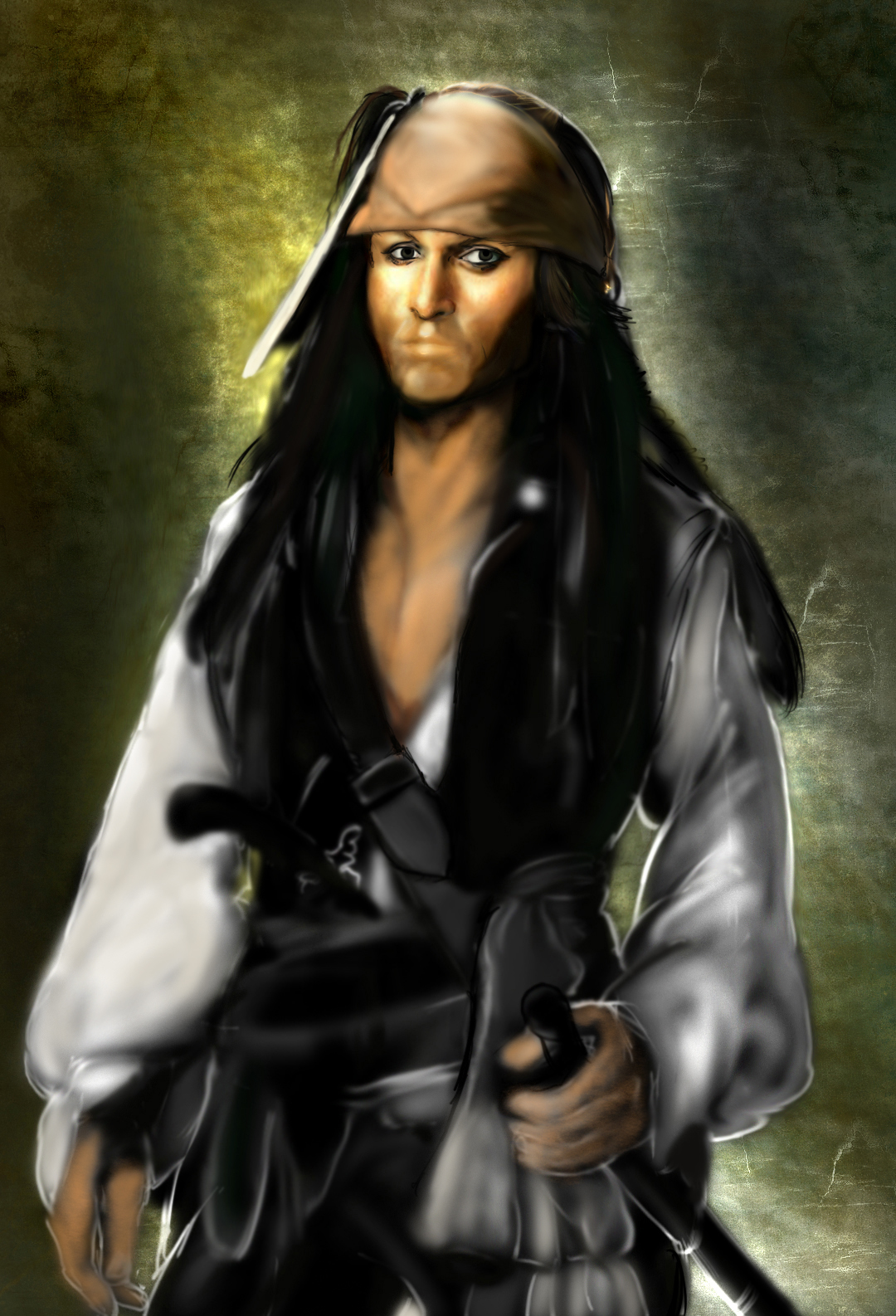 Jack Sparrow Phase III by KomyFly