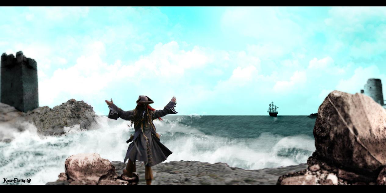 Freedom of the sea by KomyFlyinc@ by KomyFly