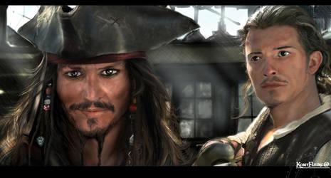 Son I am Captain Jack Sparrow