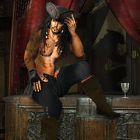 the captain fer the ladys  soft Erotic by KomyFly
