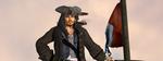 the epic Captn 3D FanArt by KomyFly