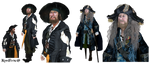 Barbossa Png stock free to use by KomyFly