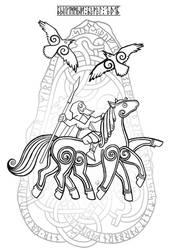 Odin by SimbAkella