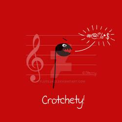 Crotchety!