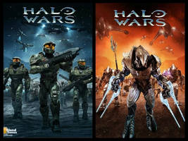 Halo Wars UNSC-COVENANT by videogameexpert117