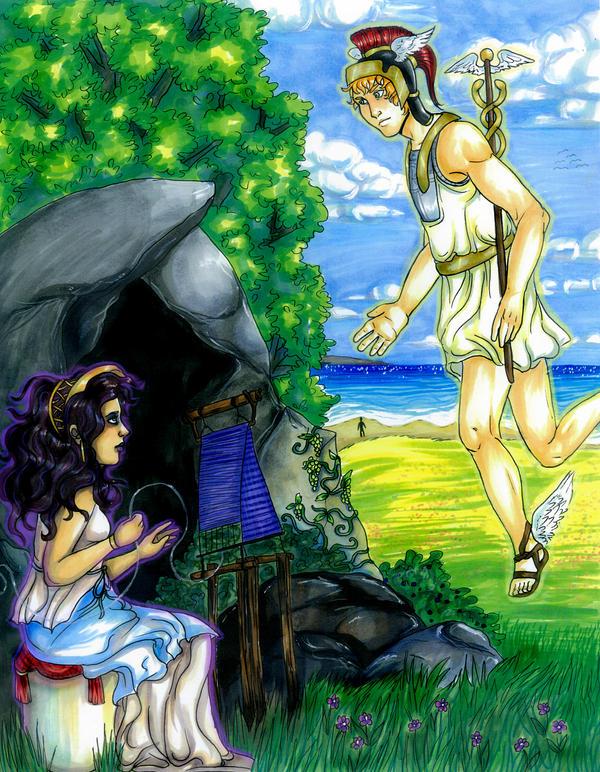 Odysseus On Calypso S Island