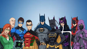The Bat Family by MS225