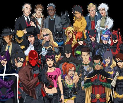 Batman Inc. - Ten Years Later