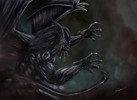 Azrael, Demon of the Abyss by fromthedead